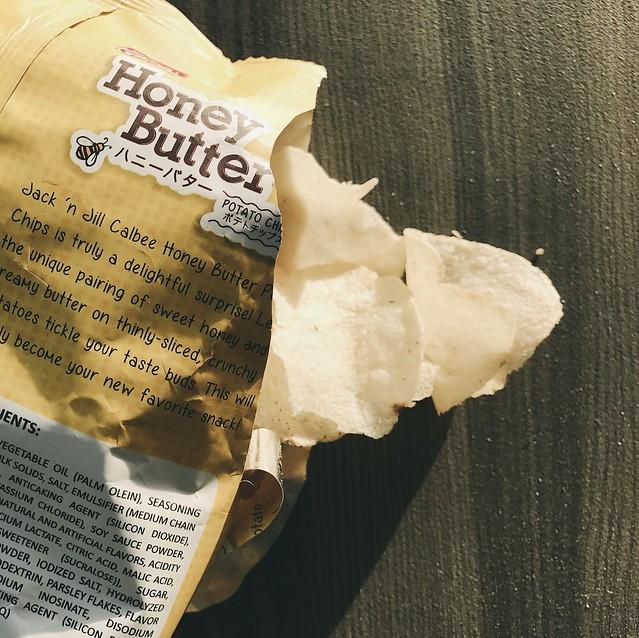 Calbee Honey Butter