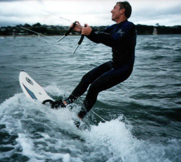 SURFERS PARADISE STICKER surf hotrod split bug 100mm wide