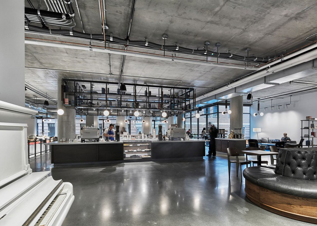 Workspace cafe by American studio AvroKO in San Francisco Sundeno_10
