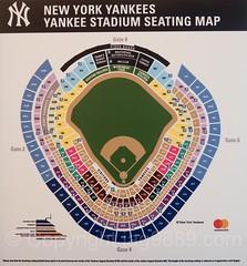 Yankee Stadium Seating Map, The Bronx, New York City | Flickr