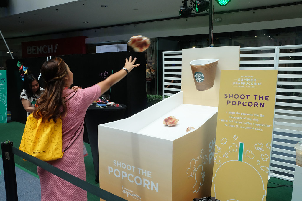Patty Villegas - The Lifestyle Wanderer - Starbucks - Philippines - Frappuccino - Grand Launch - Mall of Asia Atrium - Pop'zel Coffee -18