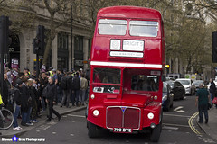 AEC Routemaster - 790 DYE - RM 1790 - Brigit's Afternoon Tea Bus Tour - London 2017 - Steven Gray - IMG_8888