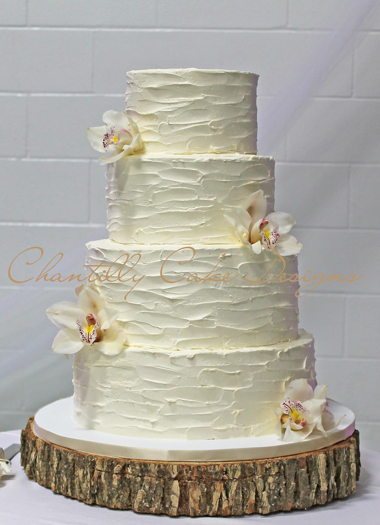 Awesome ... Rustic Buttercream Wedding Cake | By Cakespace   Beth (Chantilly Cake  Designs)