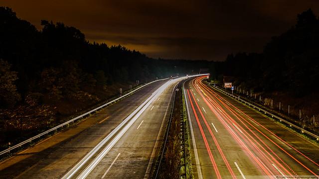 Autobahnbrücke Dreilinden