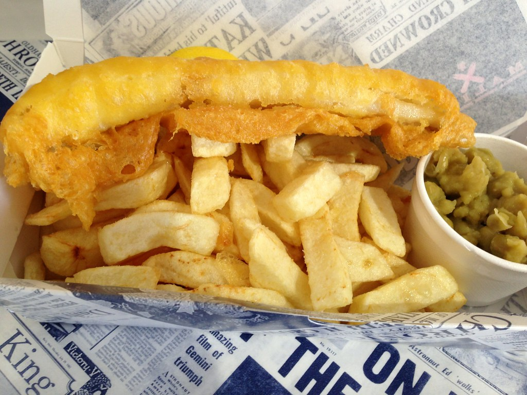 fish and chips from malins roppongi 1404 yen overall 7 3 flickr
