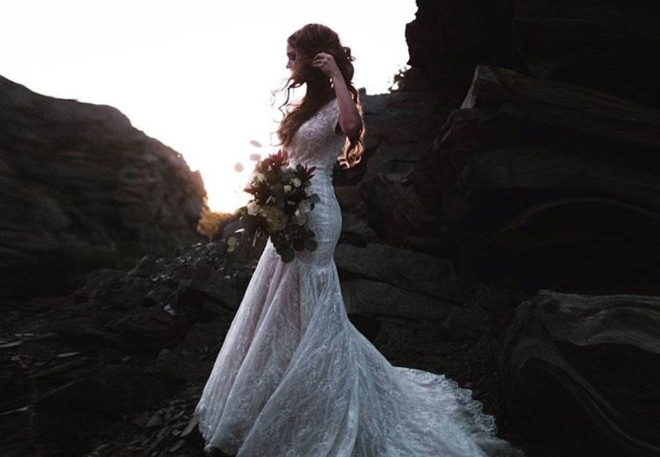 Emily Meyers remarried second wedding dress photos