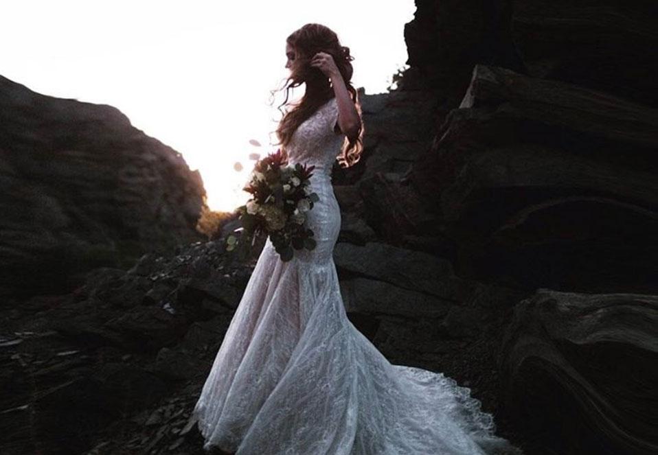 Emily Meyers remarried second wedding dress photos