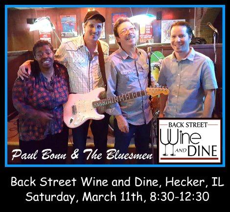 Paul Bonn & The Bluesmen 3-11-17