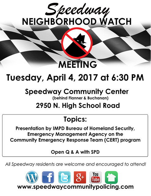 NEIGHBORHOOD WATCH-MEETING FLYER-APRIL 2017