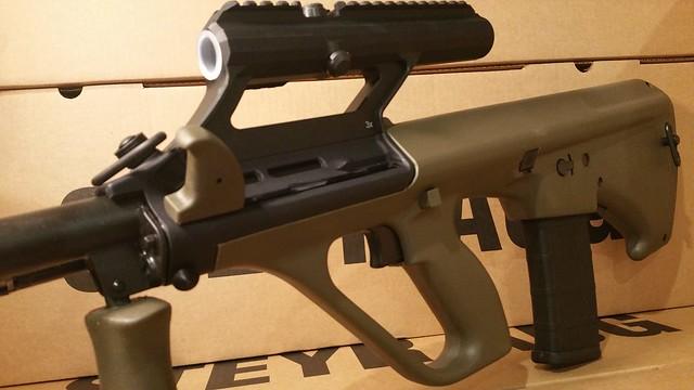 AUG AR15 mag Nato Stock