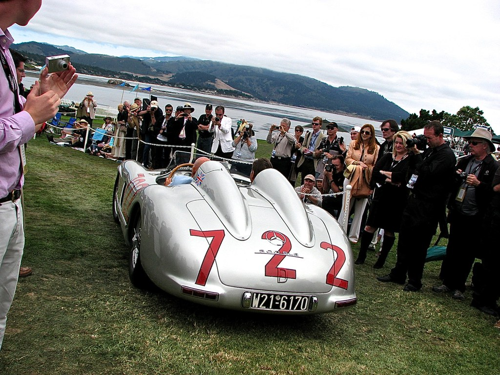 Mercedes 300 SLR 722 Stirling Moss 2