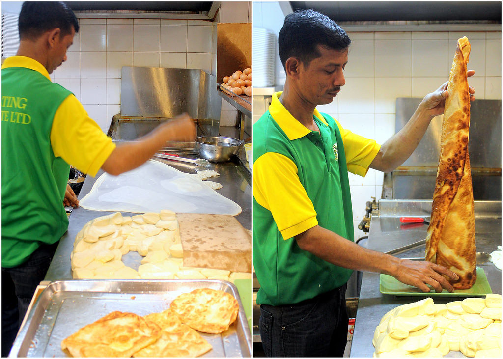 Roti Prata: R K Eating House