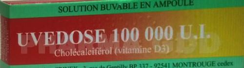 Vitamine-D3-uvedose