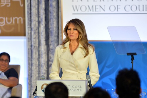First Lady Melania Trump Delivers Remarks at the 2017 International Women of Courage Award Ceremony | by U.S. Department of State