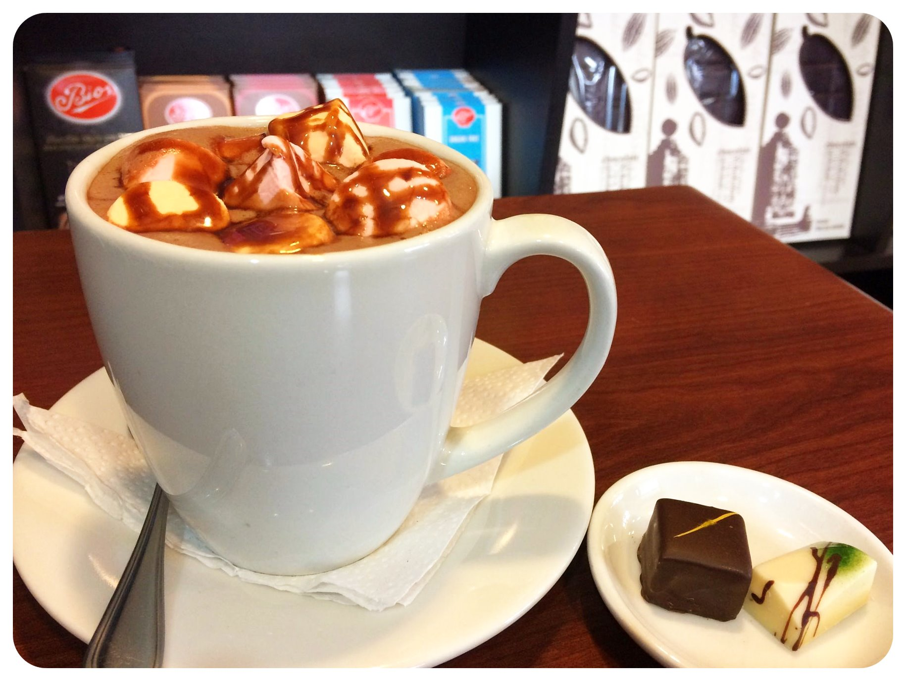 quito hot chocolate