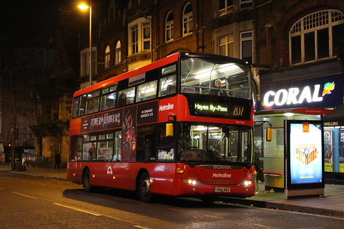 Last Metroline West Scania OmniCity