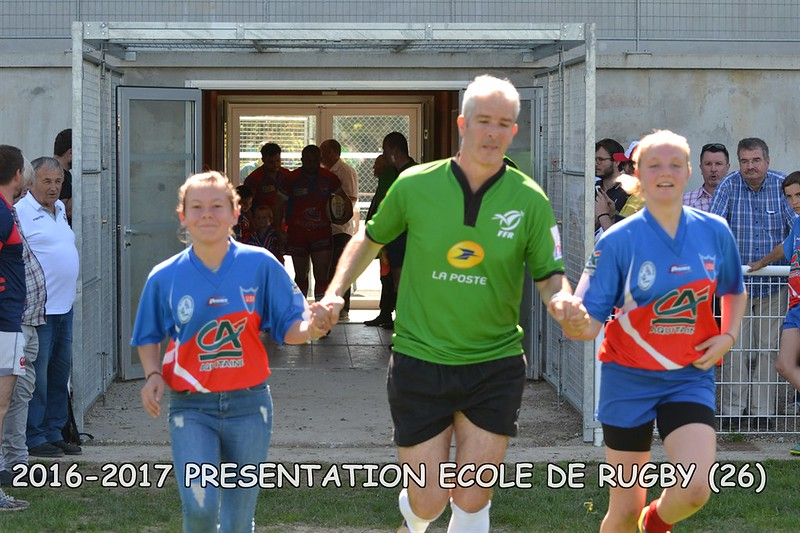 2016-2017 PRESENTATION ECOLE DE RUGBY