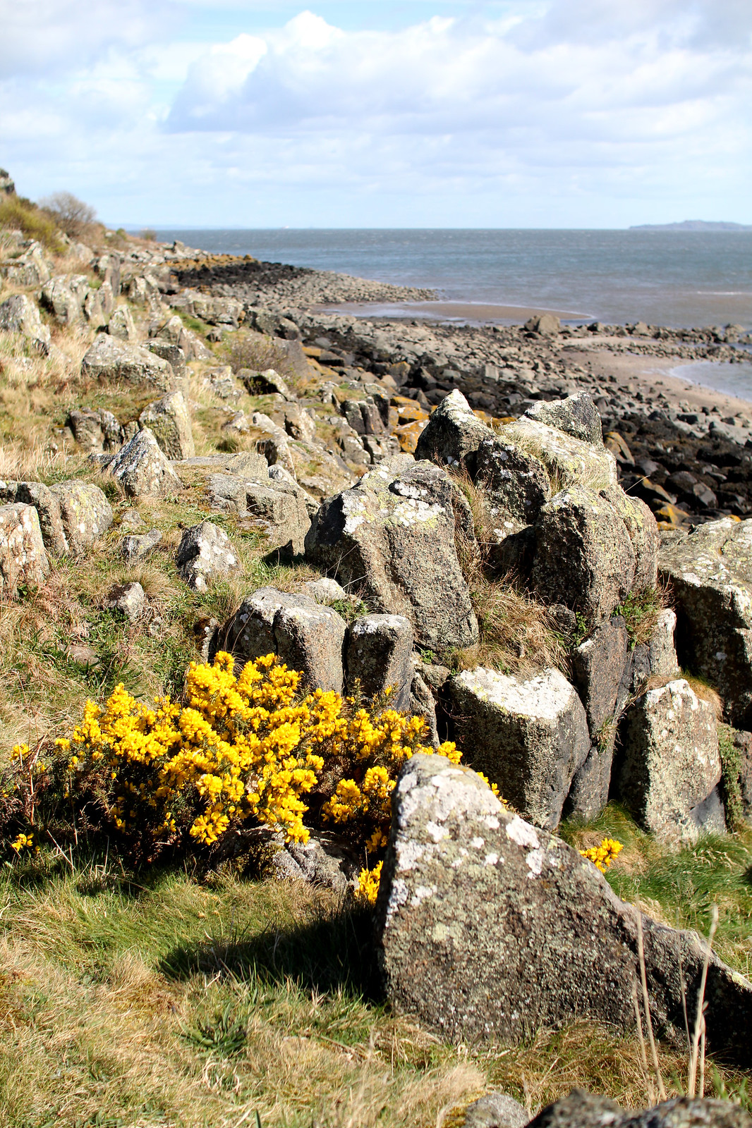 Cramond Island Village Edinburgh Scotland travel blogger UK