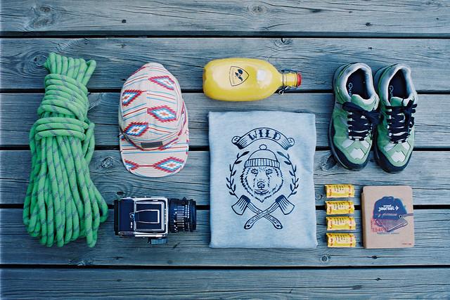 Hiking essentials.