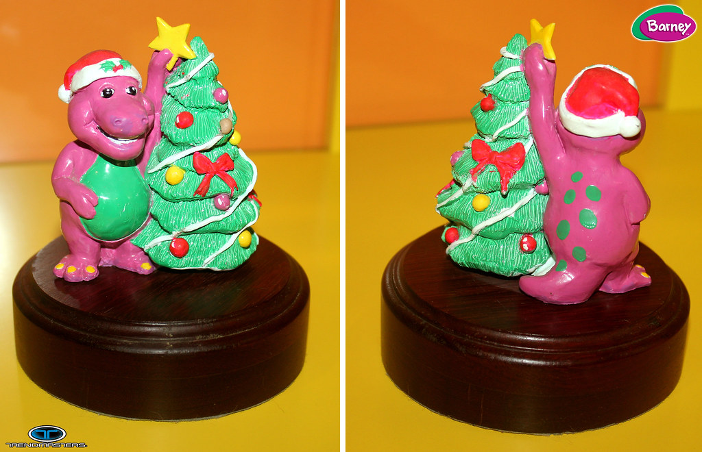 TRENDMASTERS Barney Unproduced Christmas Ornament 1993 Ori… | Flickr