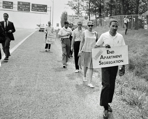 Anti-Bias March Around the Beltway: 1966 | by washington_area_spark