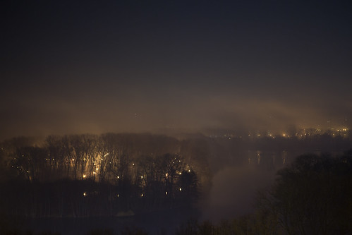 Fog Over The Night Park | by Kontramax