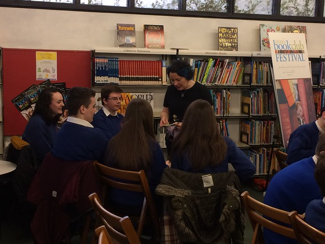 ER Murray's Writing Workshop at the De Valera Library