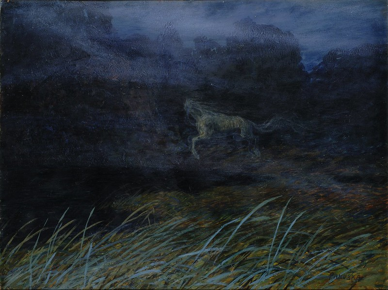 Jaroslav Panuska - Headless Horse (Fairy Tale), around 1900