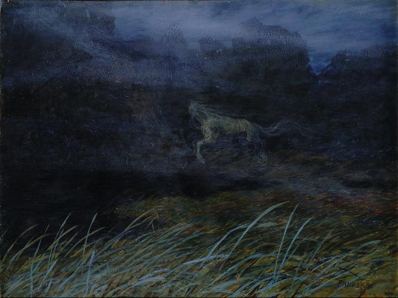 Jaroslav Panuska - Headless Horse (Fairy Tale), around 1900