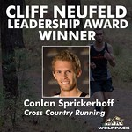 Cliff Neufeld Leadership Award - Men (Conlan Sprickerhoff)