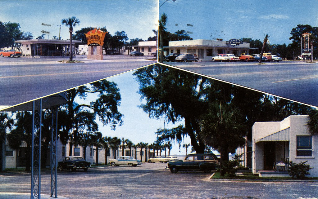 King's Motor Court - Panama City, Florida