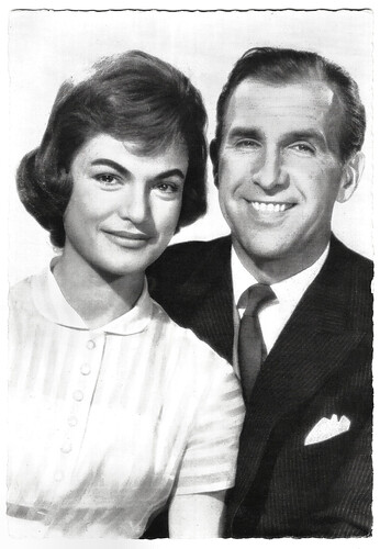 Margit Saad and Bruce Low in Ein Amerikaner in Salzburg (1958)