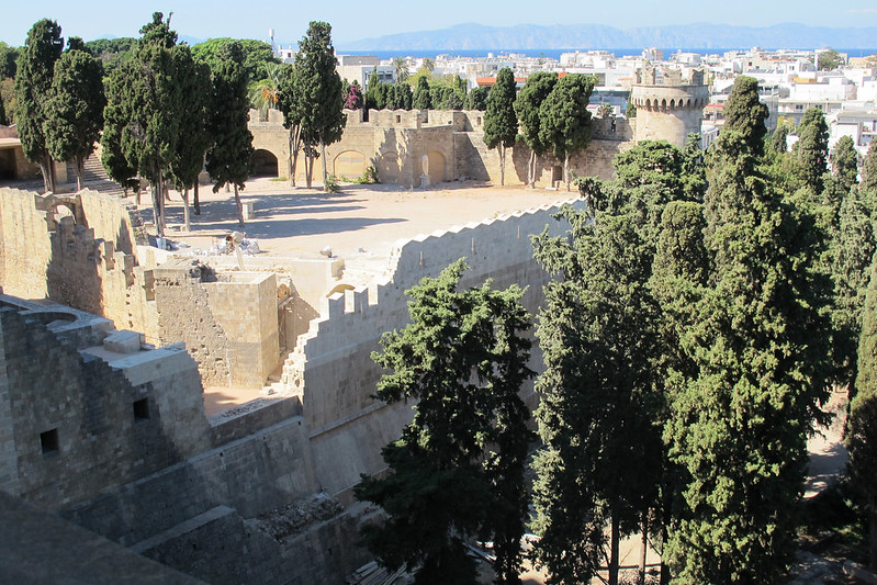 Bastion of the Grand Master's Palace in Rhodes, GREECE