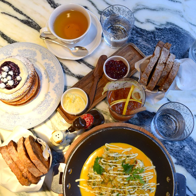 Breakfast at The Chiltern Firehouse | www.rachelphipps.com @rachelphipps