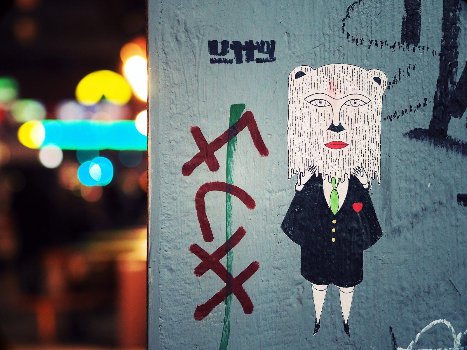 Kreuzberg Street Art Berlin Bokeh Creative_effected