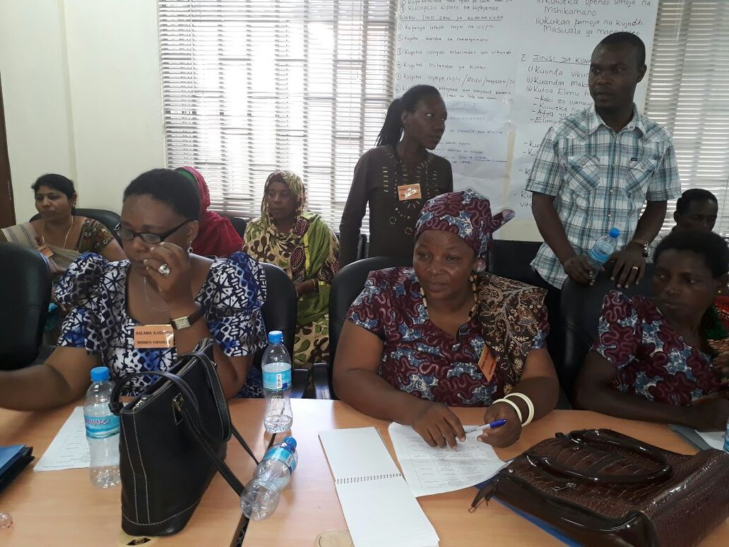 2017-3-21~22 Tanzania: CHODAWU workshop on union & cooperative