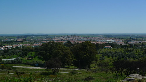 View to Evora, Portugal