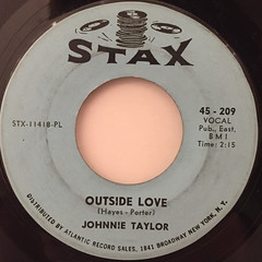 JOHNNIE TAYLOR:AIN'T THAT LOVIN YOU(FOR MORE REASON THAN ONE)(LABEL SIDE-B)