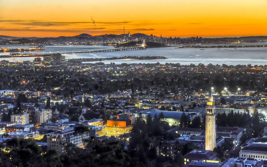 Between Berkeley and San Francisco