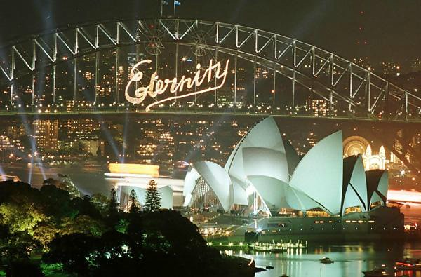 Eternity Sydney Harbour Bridge NYE 2000