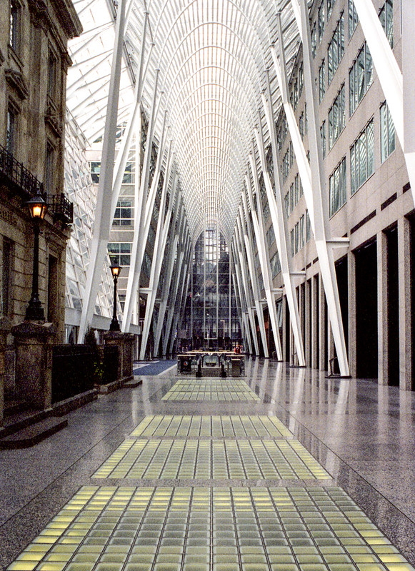 Brookfield Place Atrium on Saturday