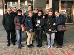 Fede con Anton, Esther, Sefa, Tomás, Maria Teresa, 2 Angels, Jordi y Manuel