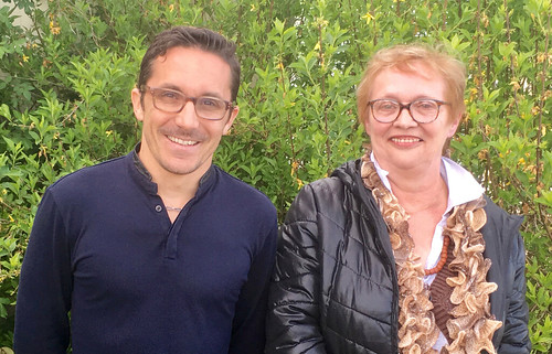 ANGELO LECOQ et NICOLE PERREE POINT PRESSE 3ème CIRCO 14 11 avril 2017
