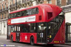Wrightbus NRM NBFL - LTZ 1119 - LT119 - Liverpool Street 11 - Go Ahead London - London 2017 - Steven Gray - IMG_9541