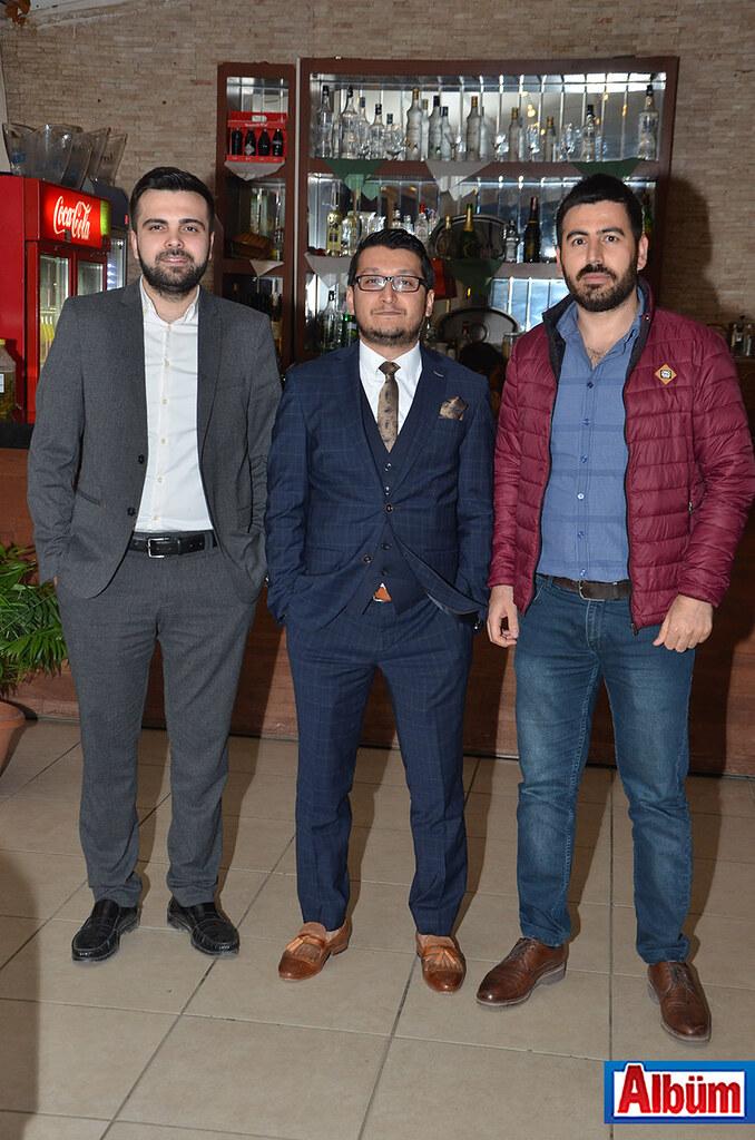 Mustafa Demir, Hakan Sönmez, Ahmet Karagedik