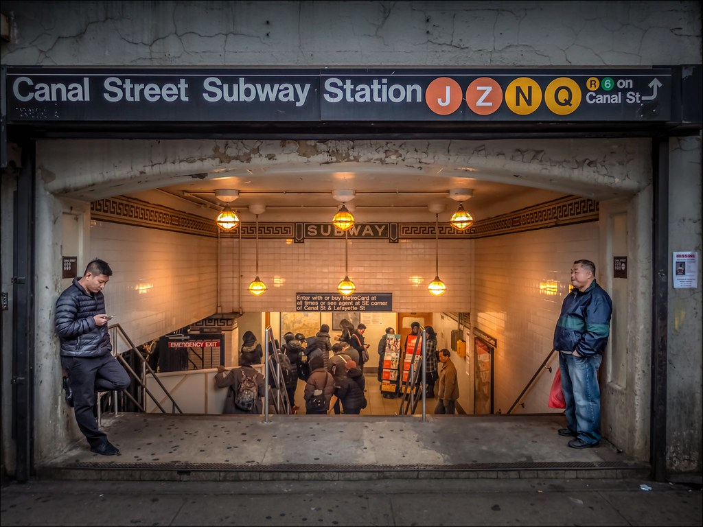 Canal Street Subway Map