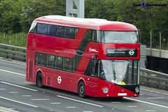 Wrightbus NRM NBFL - LTZ 1215 - LT215 - 357 EL Trade Plates - Luton M1 J10 - 140422 - Steven Gray - IMG_8100 (2)