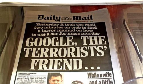 Lurid headline