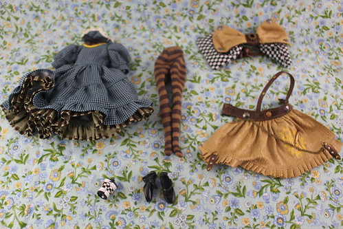 Alice in Steampunk World stock outfit