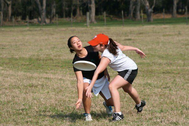 ultimate frisbee, 2007, taken by Mike Dormer